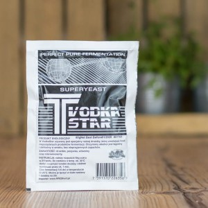 Drożdże T VODKA STAR 65g
